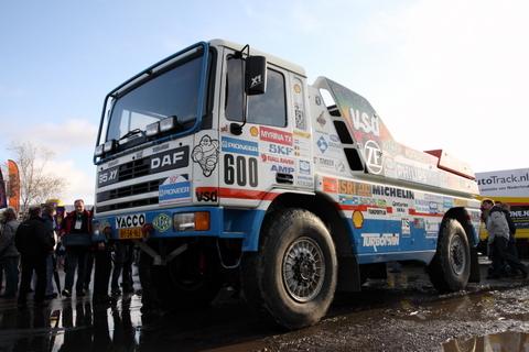SP DAF 95 X1 PD 1988 Jan De Rooy