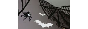 decoration pour halloween La toile D araignee geante